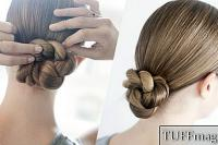 Sleek Rope Bun Tutorial
