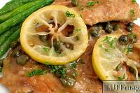 Chicken Scaloppini recept ve stylu Piccata